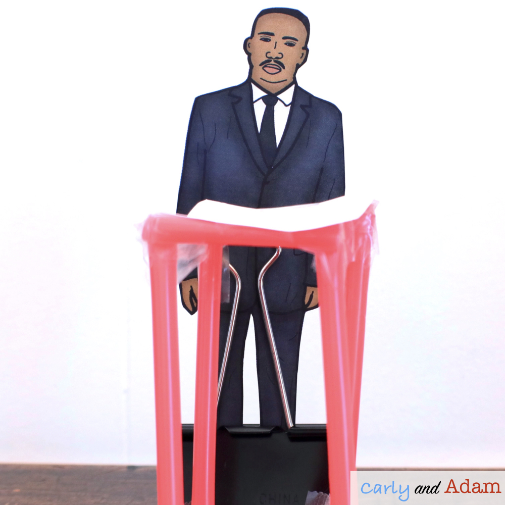Martin Luther King Build a Podium STEM