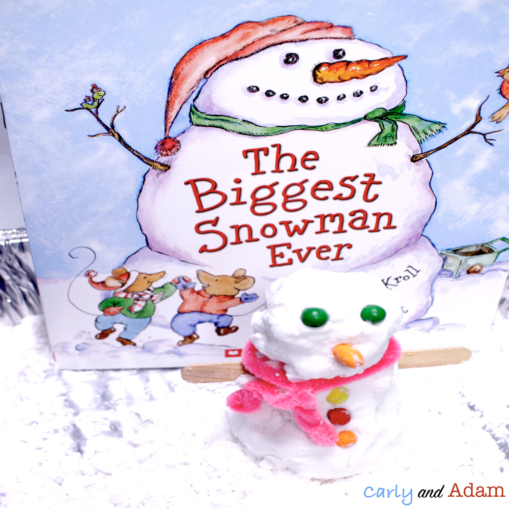 The Tallest Snowman Ever Build a Snowman STEM Activity