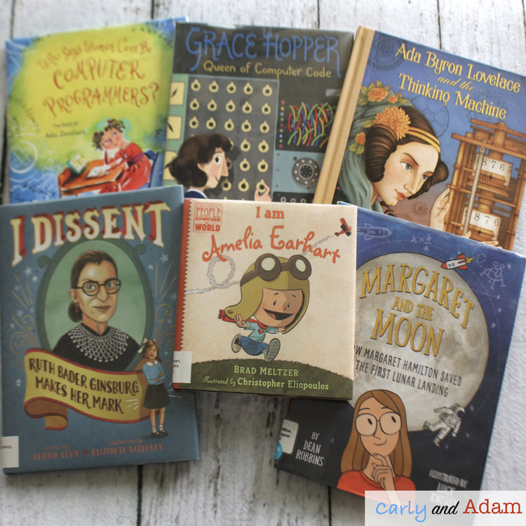 Women's History Month Read Alouds