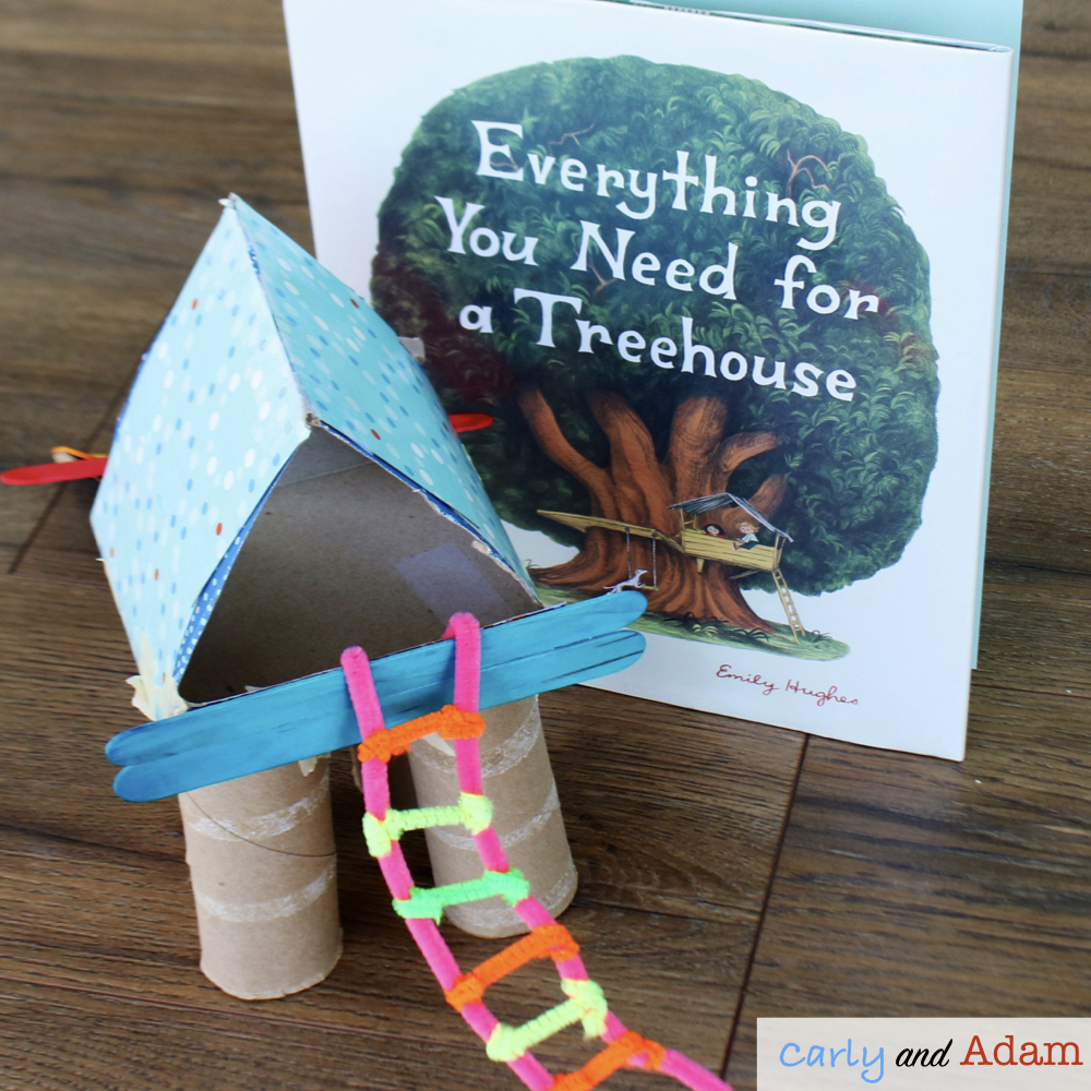 Everything You Need For a Treehouse (Build a Treehouse STEM)