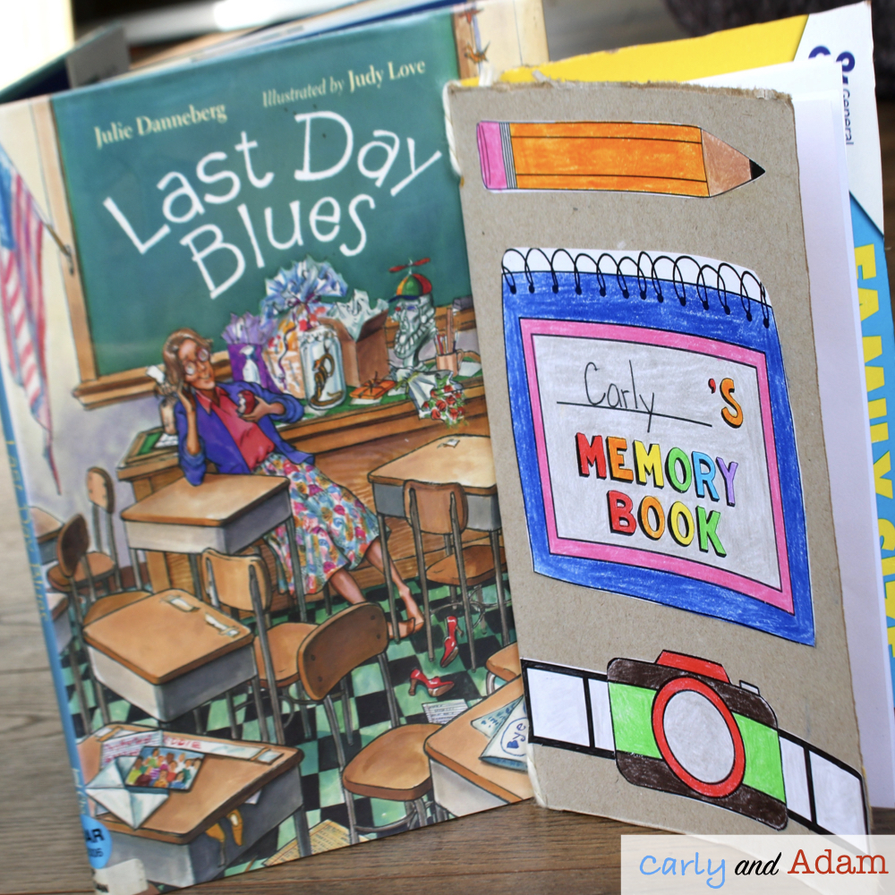 Last Day Blues (Build a Memory Book STEAM Project)