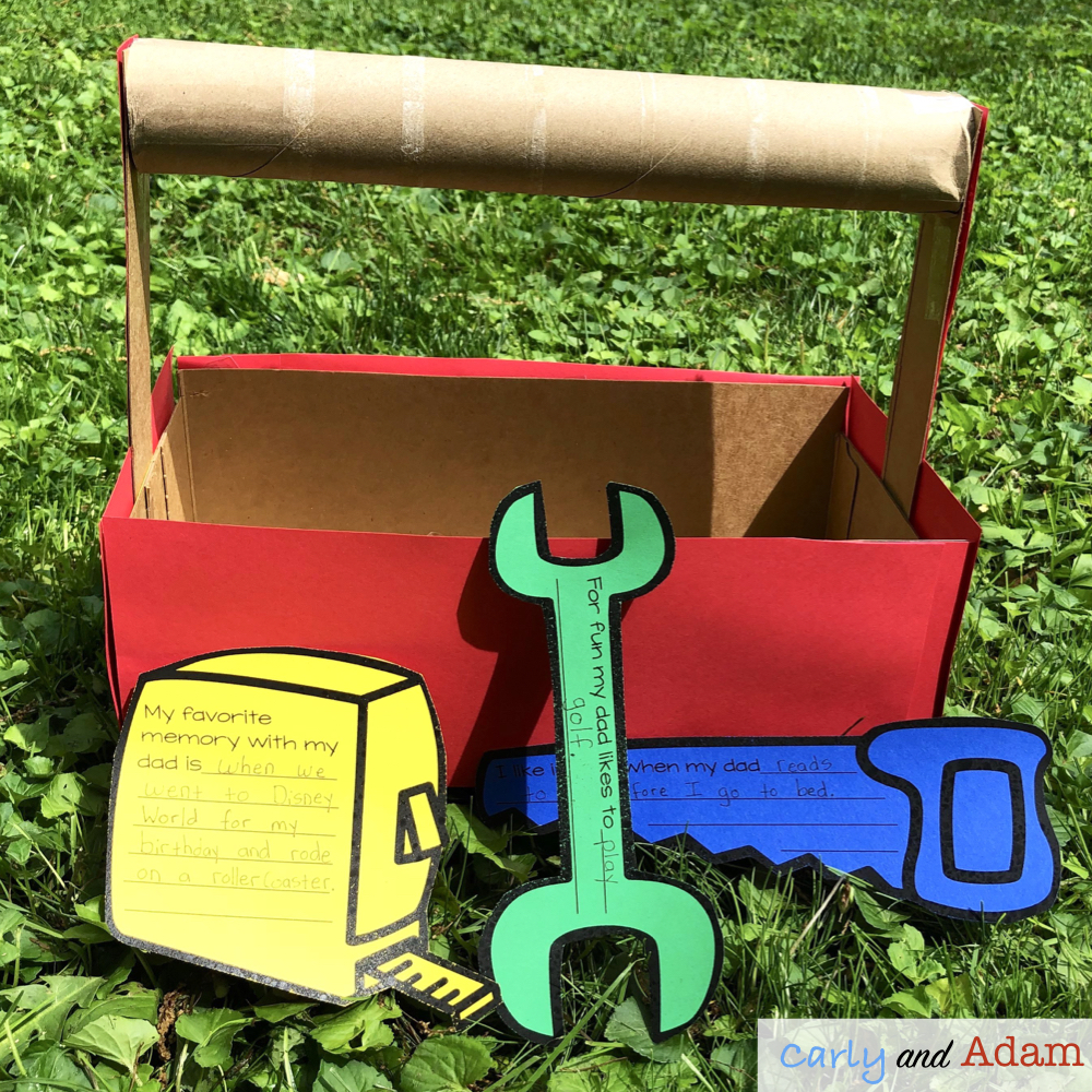 Father's Day Build a Toolbox STEM Challenge