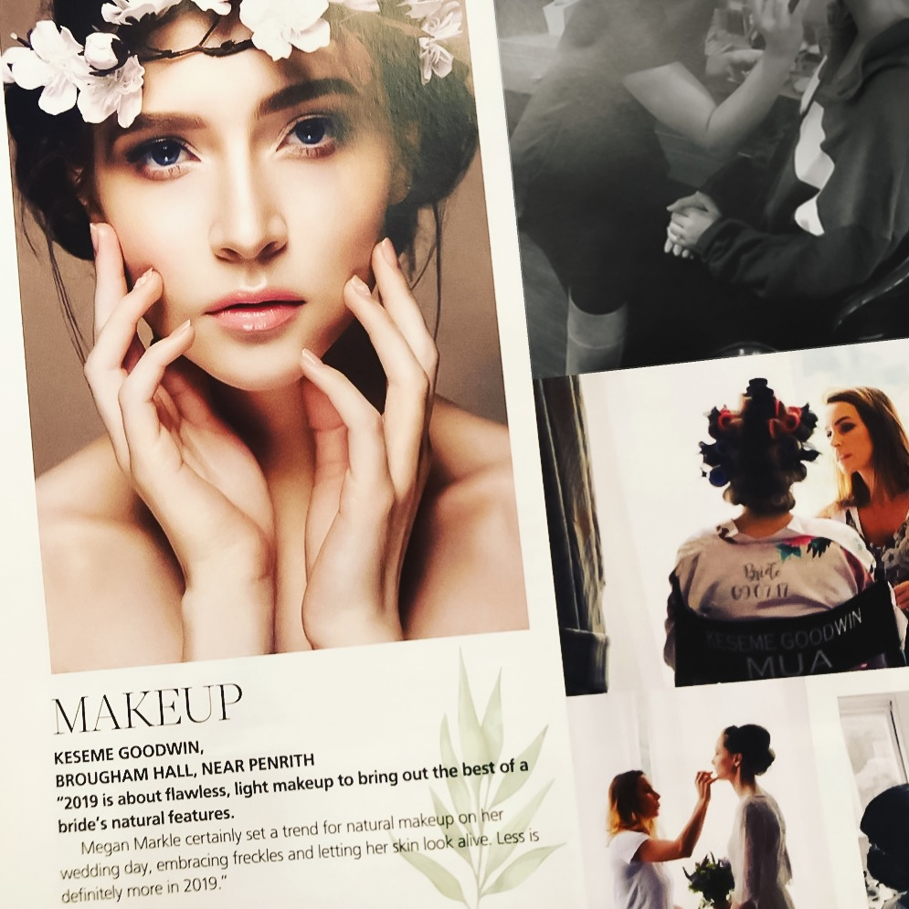 Keseme Bridal Make-up featured in Lakes & Cumbria Wedding Magazine 2018:2019.jpg