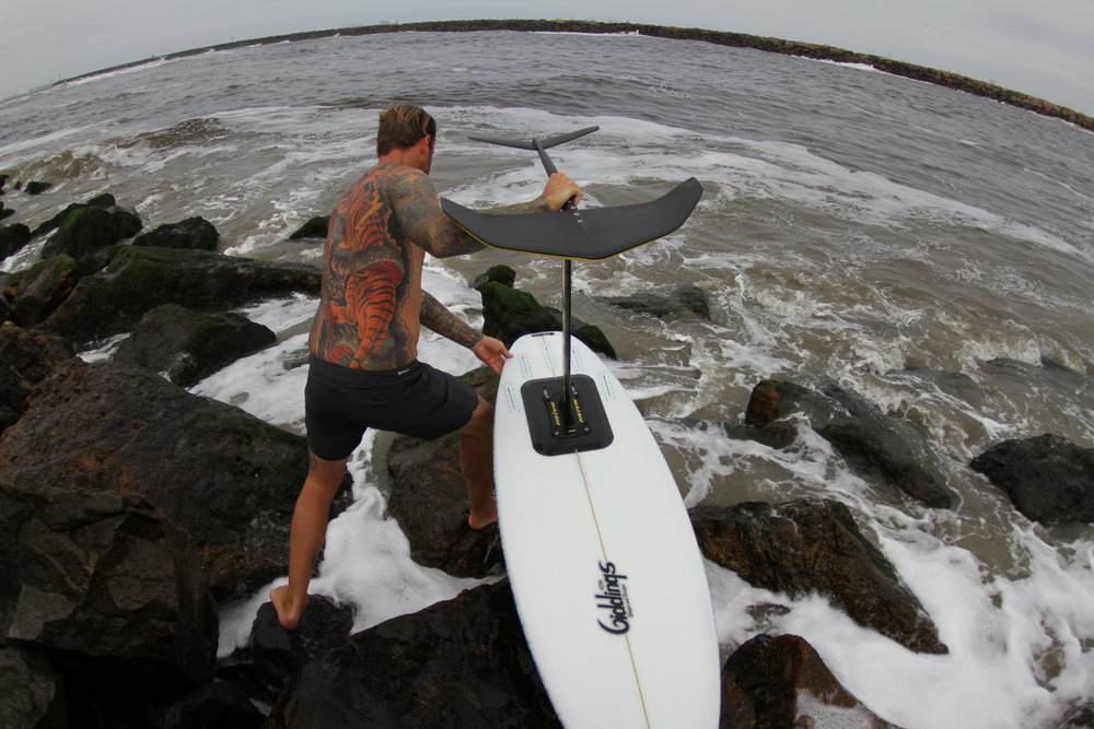 Ryan's setup of a 3M adhesive mount instead of a routed fin box attachment.  See how strong it is  here .
