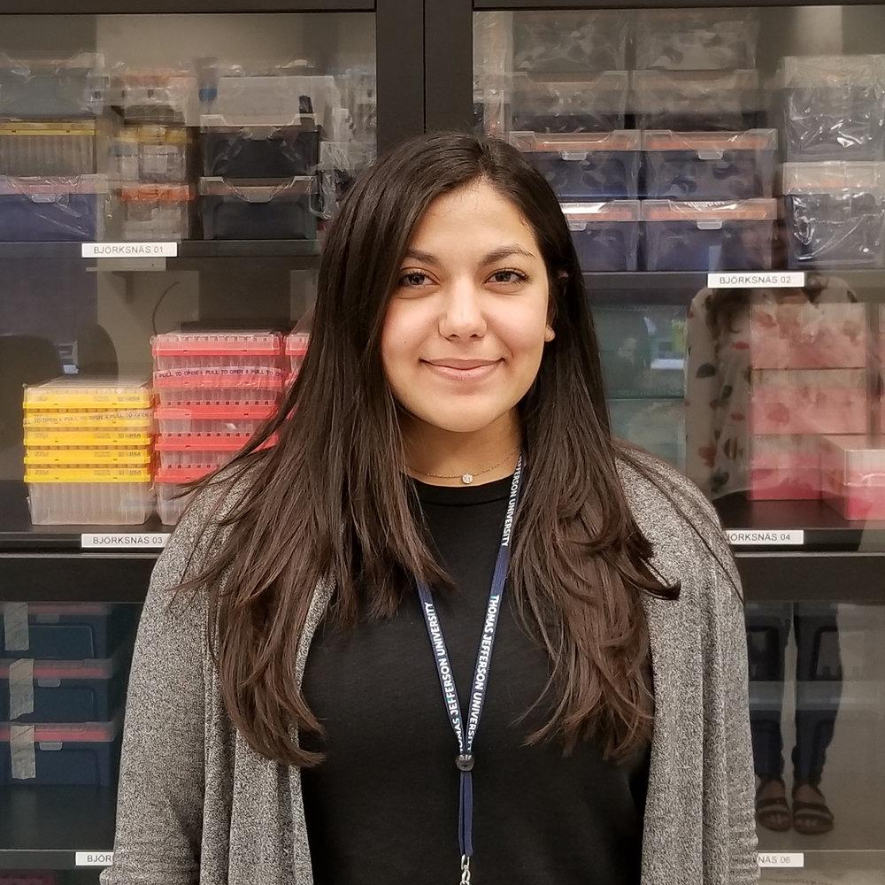 Layla Ghaffari, our new Rotation Student.
