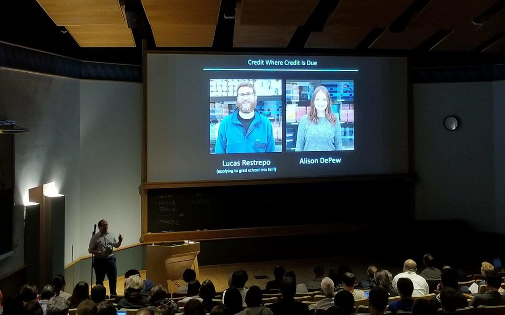 Tim speaks at the 2018 Cold Spring Harbor: Molecular Mechanisms of Neuronal Connectivity meeting on a brand new project (completely from our lab) on synaptic maturation!