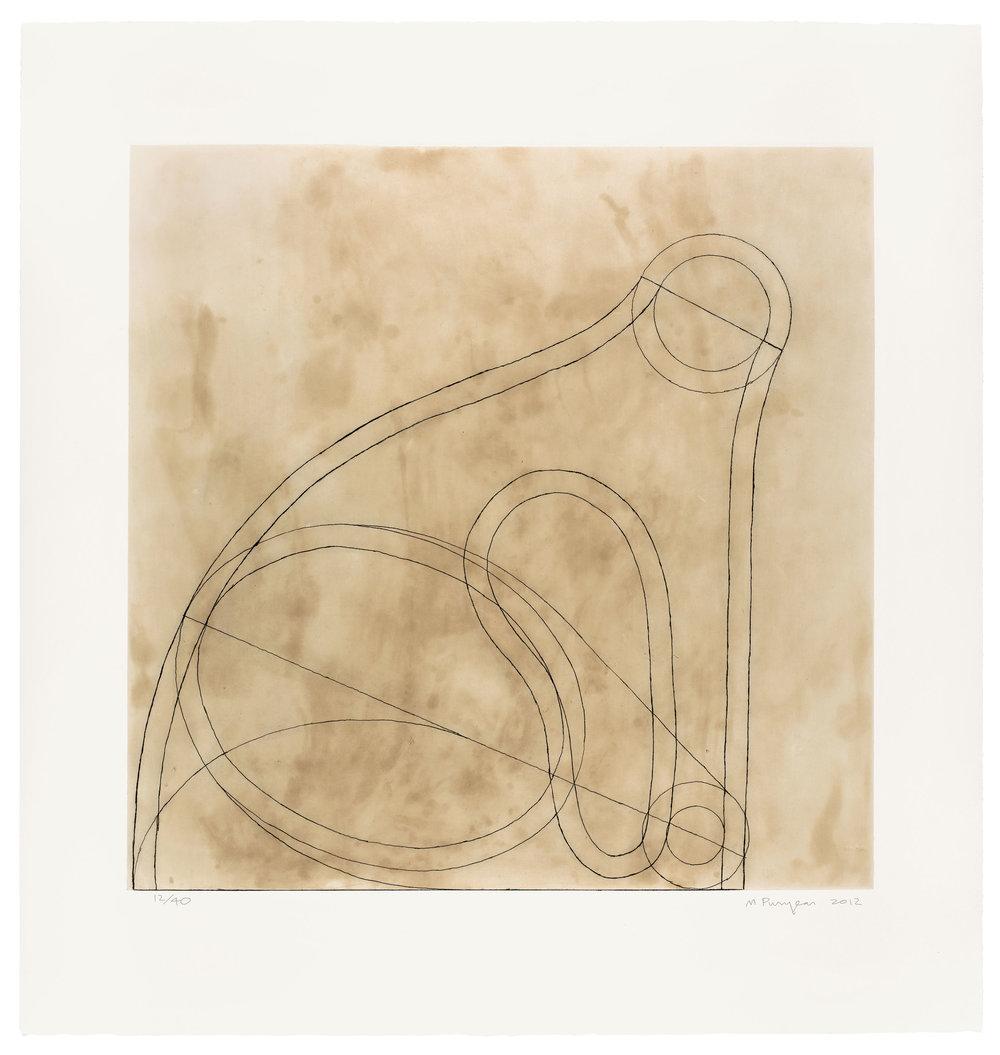Martin Puryear,Untitled VI, State 1, 2012, © Martin Puryear, Courtesy Matthew Marks Gallery