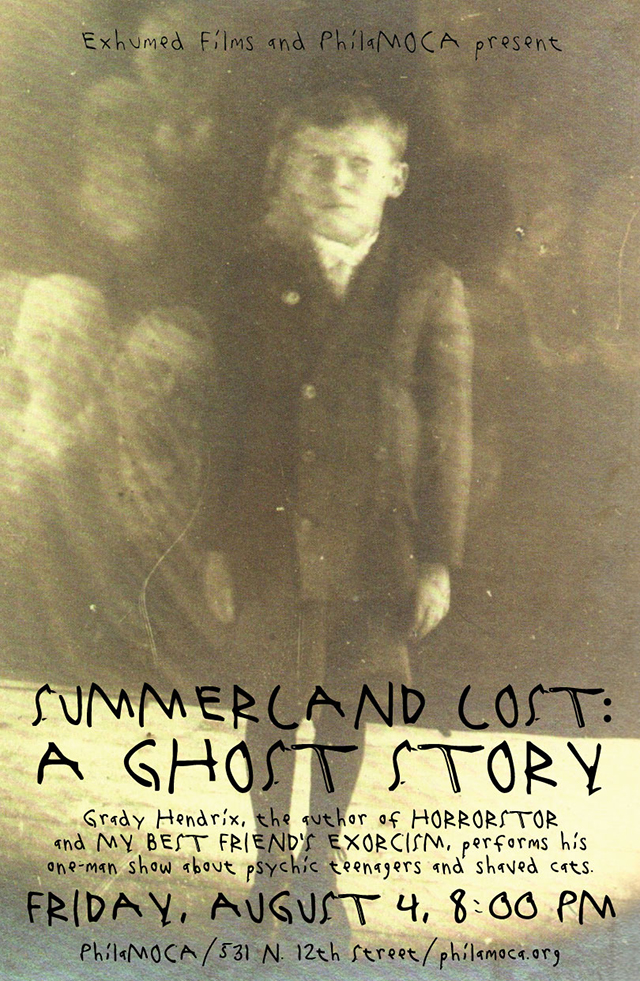 Performance: Summerland Lost - A Ghost Story — Philly Stewards