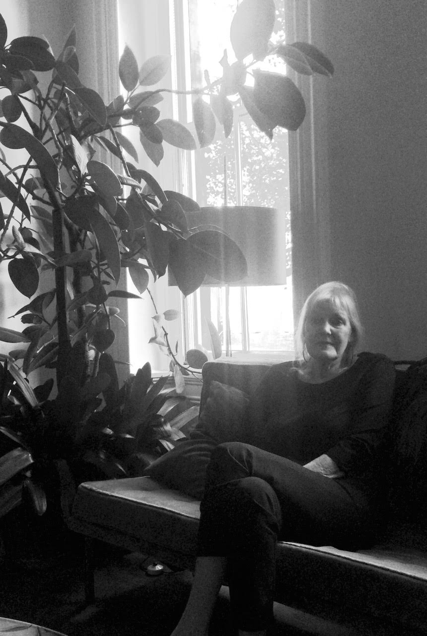 Yvonne Bobrowicz in her living room
