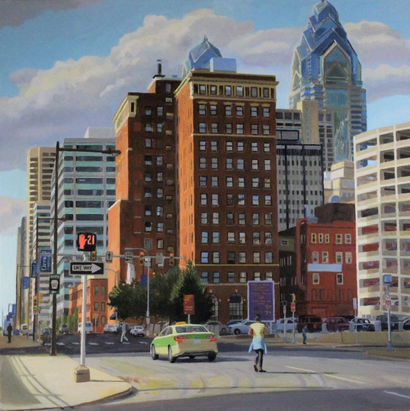 _View from 15th and Vine__30_x30__oil on canvas_Larry Francis_2018 _2_.jpg