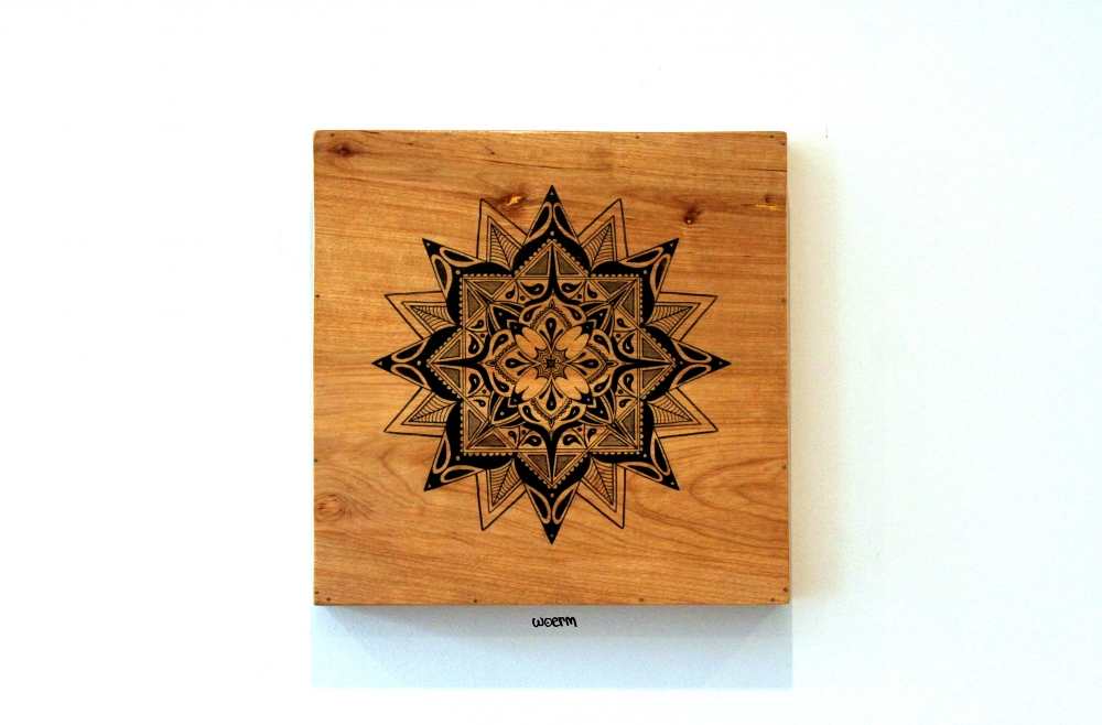 Mandala on Box