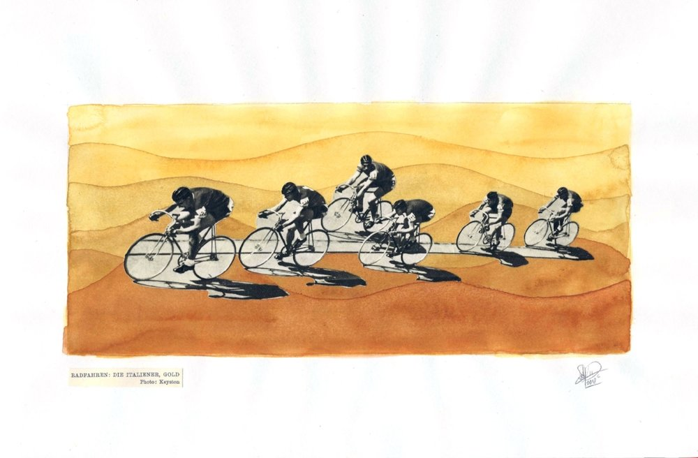 1952 Olympics - Bike Race
