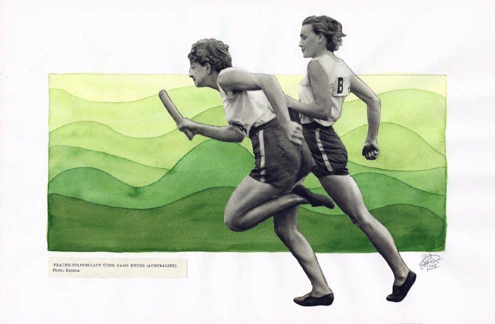 1952 Olympics - Run