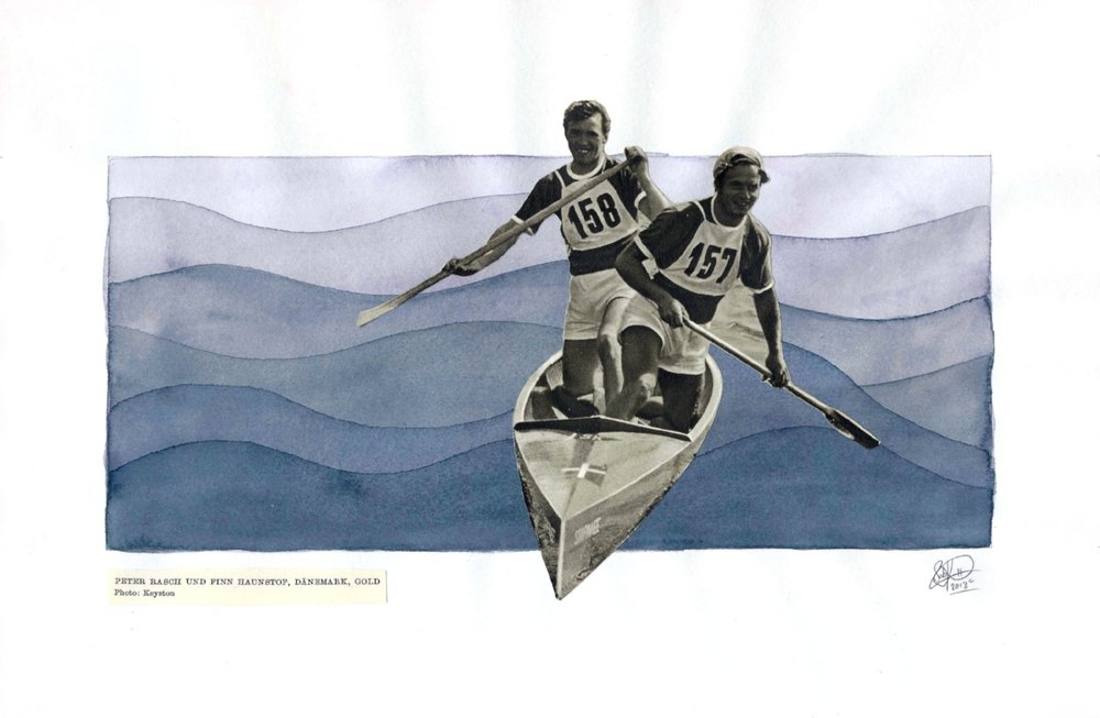1952 Olympics - Rowing