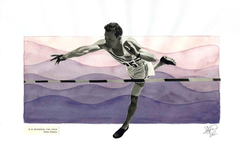 1952 Olympics - Pole Jump