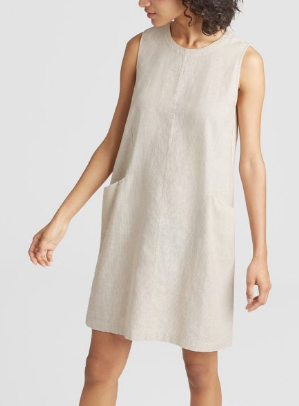 Eileen Fisher - Hemp organic cotton dress $149