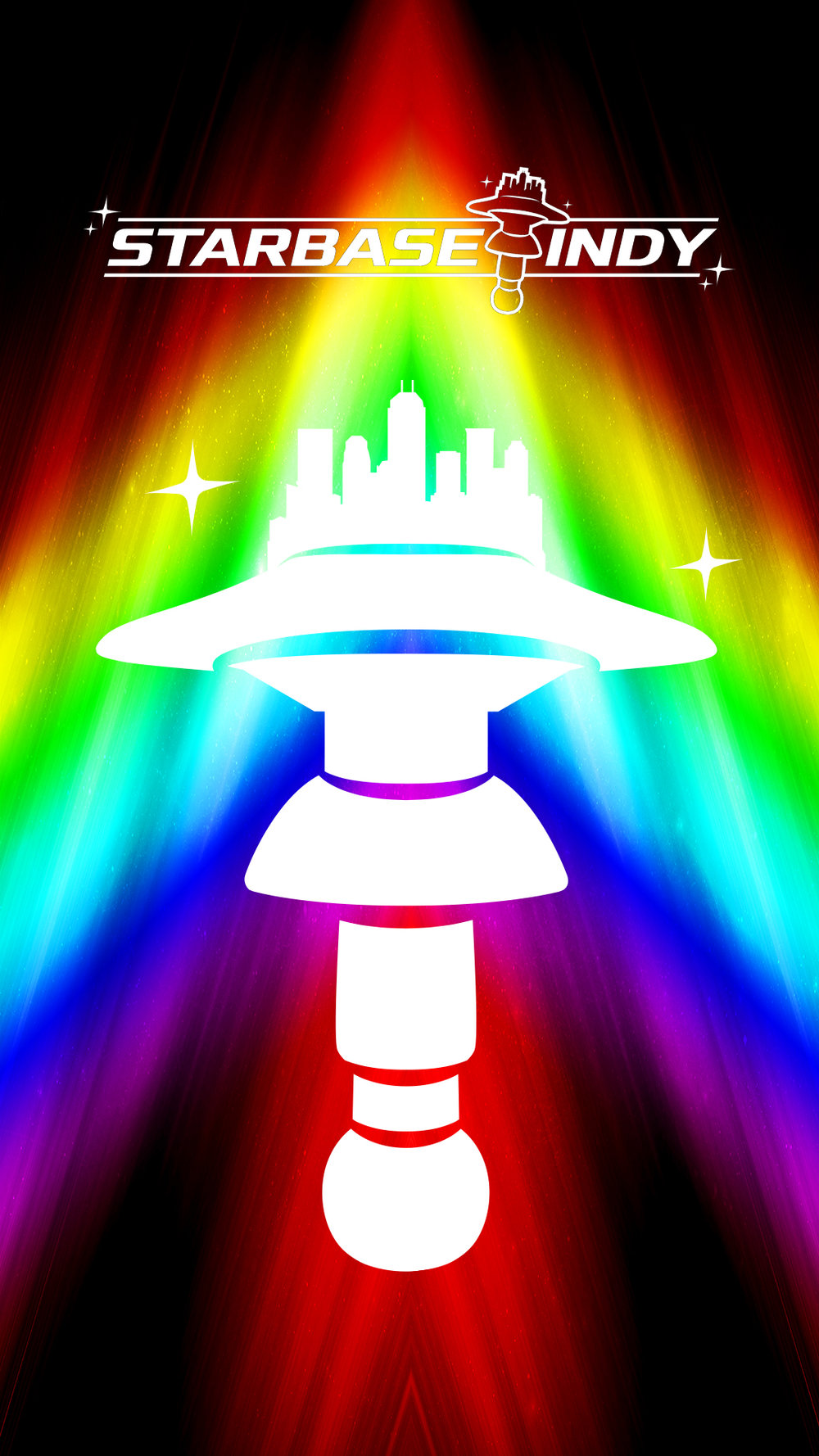 2018 Rainbow Phone Screensaver (1080 x 1920)