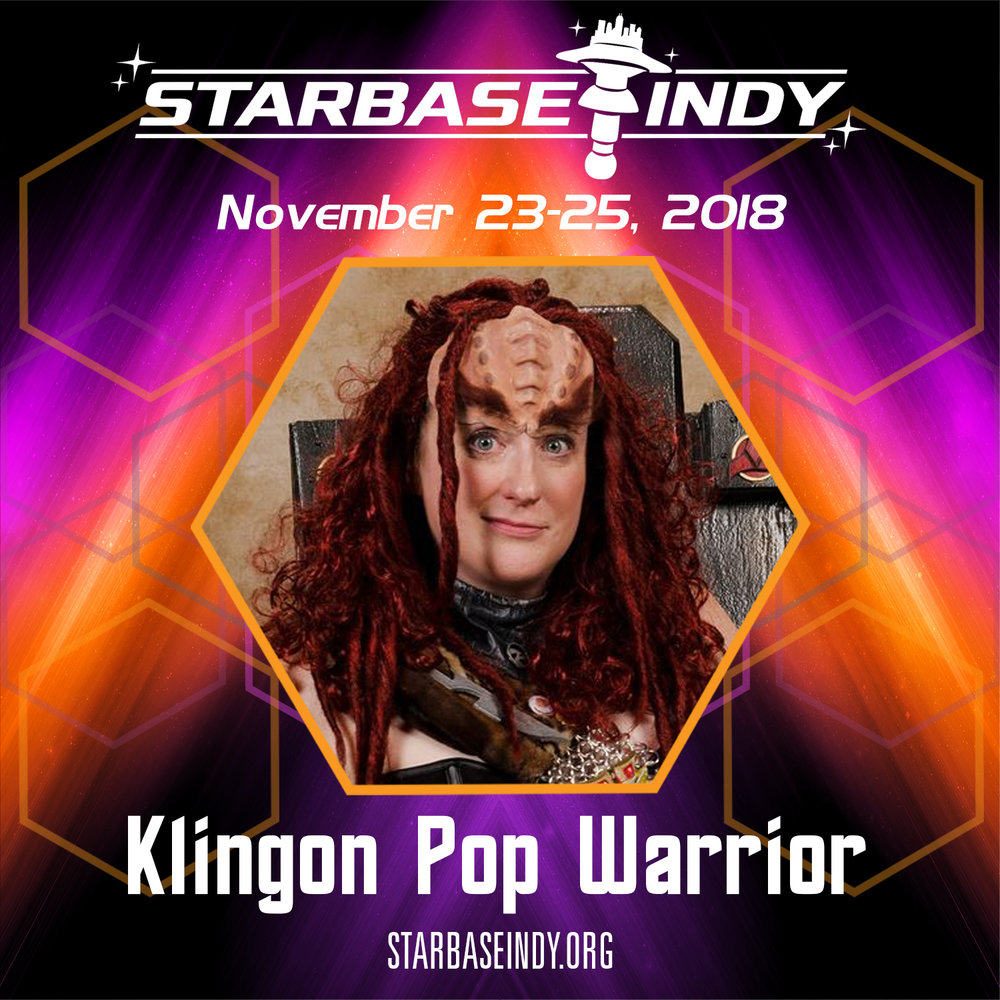 Klingon Pop Warrior - The Klingon Pop Warrior is traveling the quadrant to bring you songs you  thought you knew in the original Klingon. From pop to rock and  everything in between!