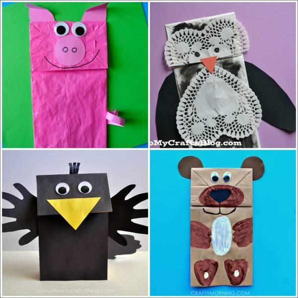 Paper-bag Animals