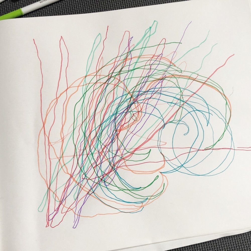 Drawing on Breath - An exercise in mindfulness and creativity for all ages.