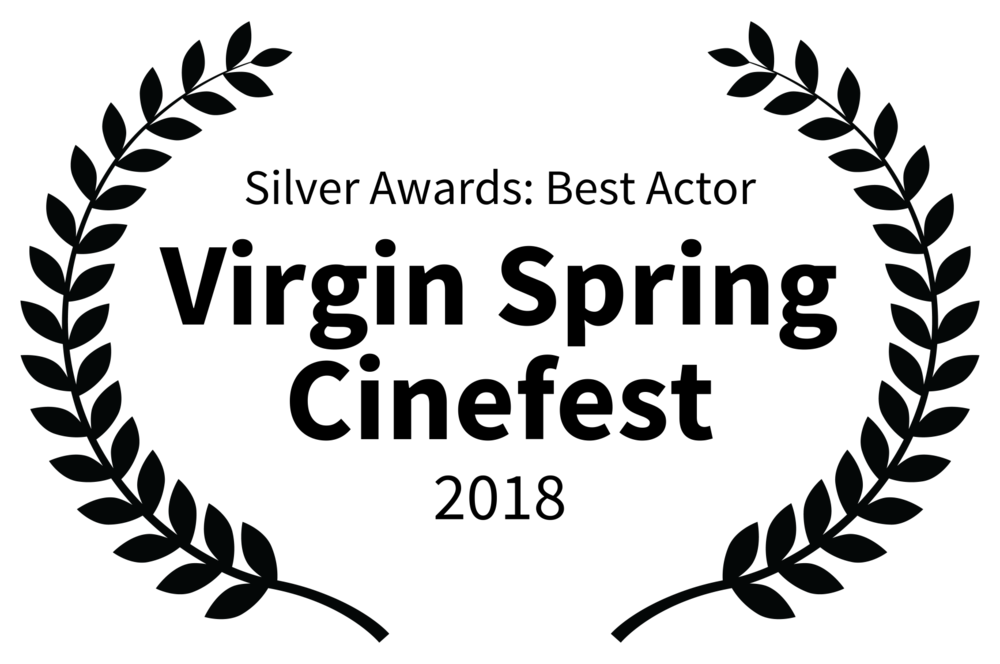 Silver Awards Best Actor - Virgin Spring Cinefest - 2018.png