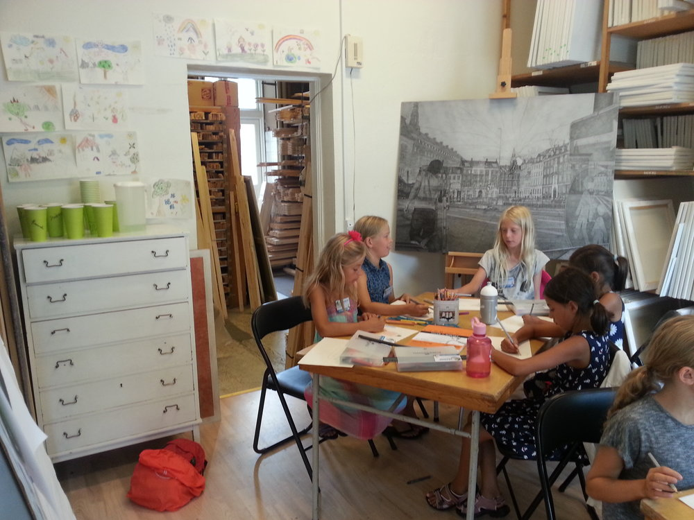 Summer Drawing School