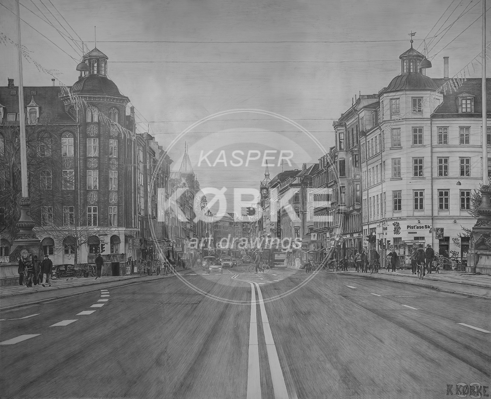 Nørrebrogade Cph. - (300 x 244 cm)