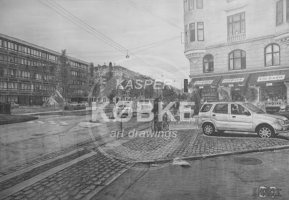 Sdr. Boulevard Cph. - (130 x 90 cm)