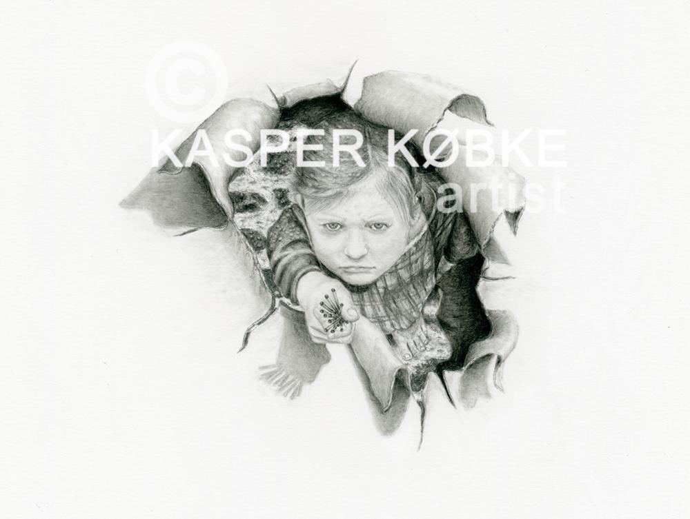 DEN LILLE PIGE MED SVOVLSTIKKERNE - Limited Edition