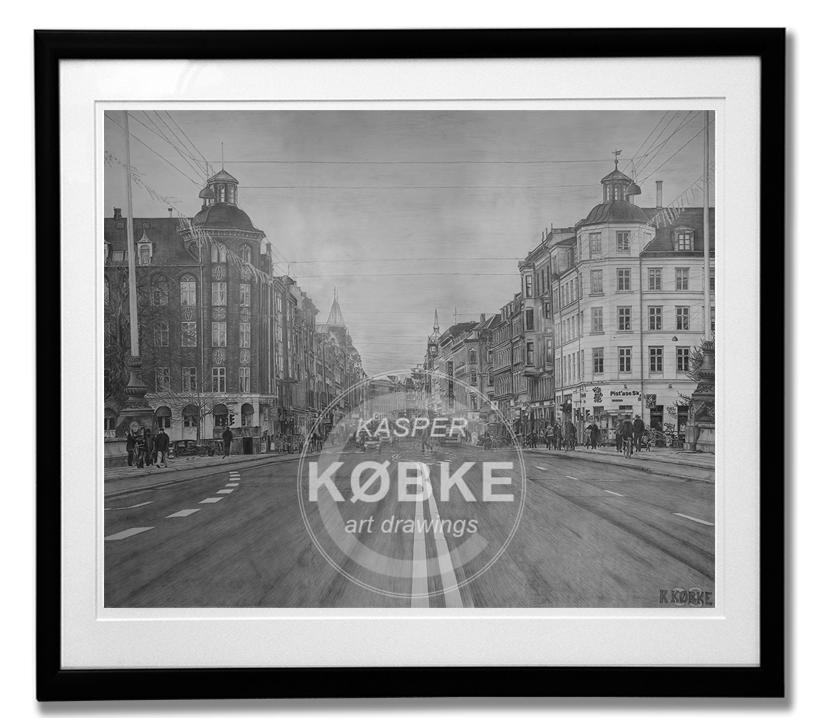 NØRREBROGADE COPENHAGEN - Limited Edition