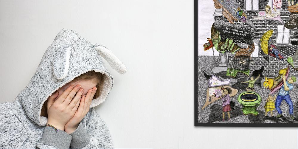 """- Vidste du, at …""""… hvert 6. barn i Danmark er udsat for fysisk vold i hjemmet. Det svarer til, at 3-4 elever i en klasse med 24 elever er udsat for vold""""Kilde: Vold og seksuelle overgreb mod børn og unge i Danmark, SFI (2016). - Modelfoto."""