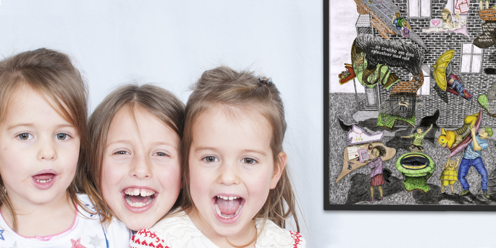 Plakaten  har skabt stor glæde, og mange gode og dybe samtaler med børnene om deres rettigheder. -  modelfoto.