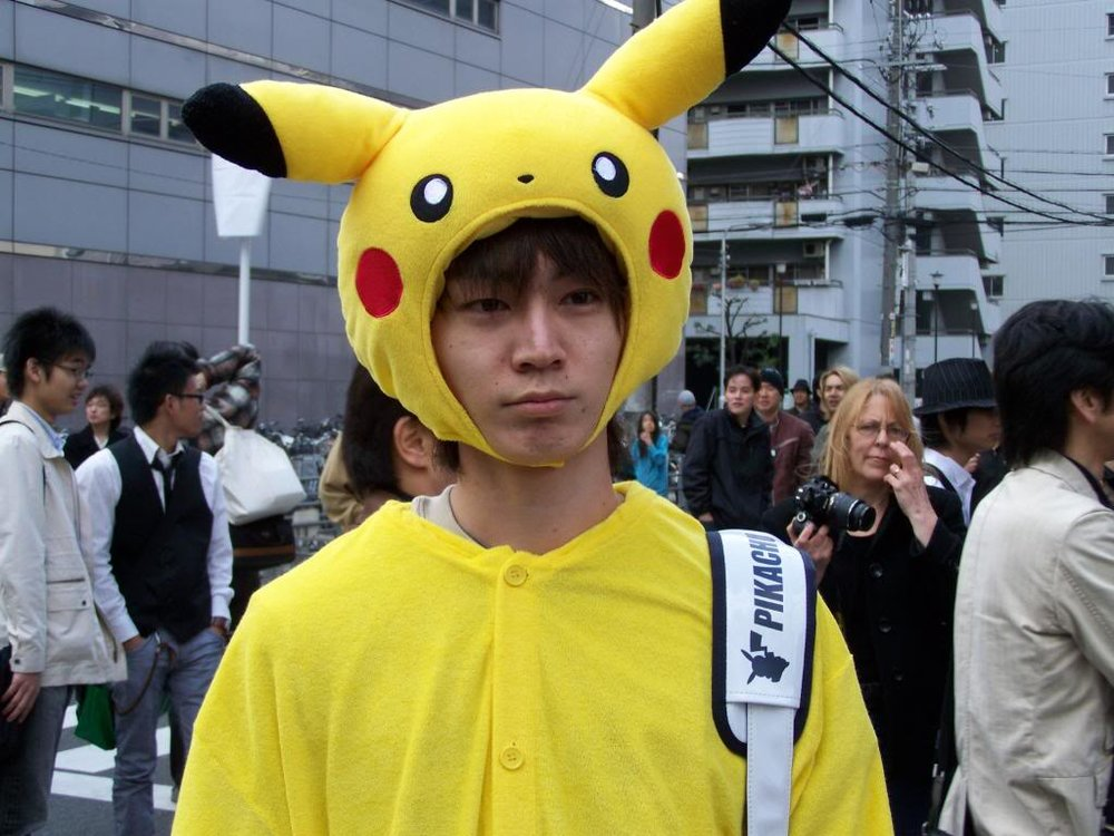 Cheer up, Pikuchu. I choose you!