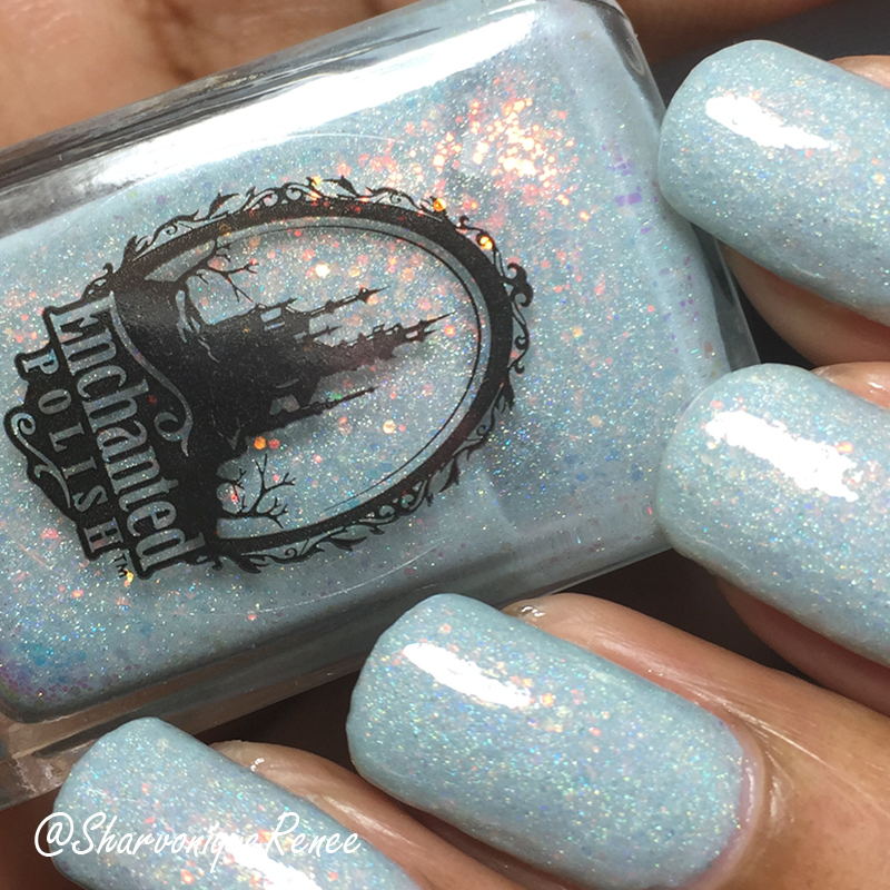 Enchanted Polish Snow Berry Opal
