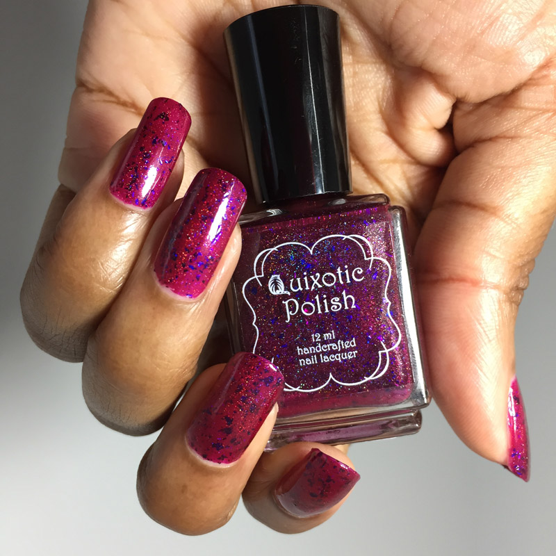 Quixotic Polish Pyrope