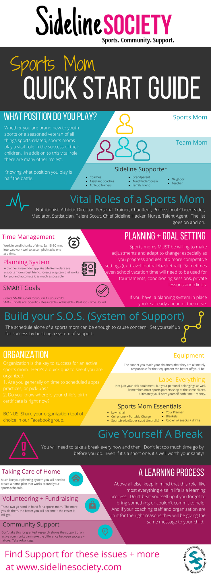 Sports Mom Quick Start Guide