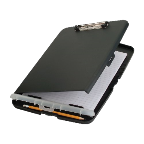 Storage Clipboard - A Team Mom's BFF... Slim, Sleek + keeps papers tidy