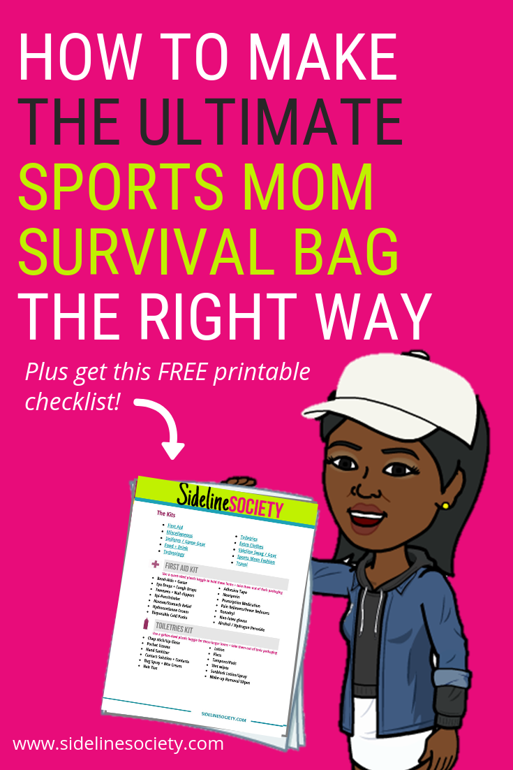 How to make the ultimate sports mom survival bag.png