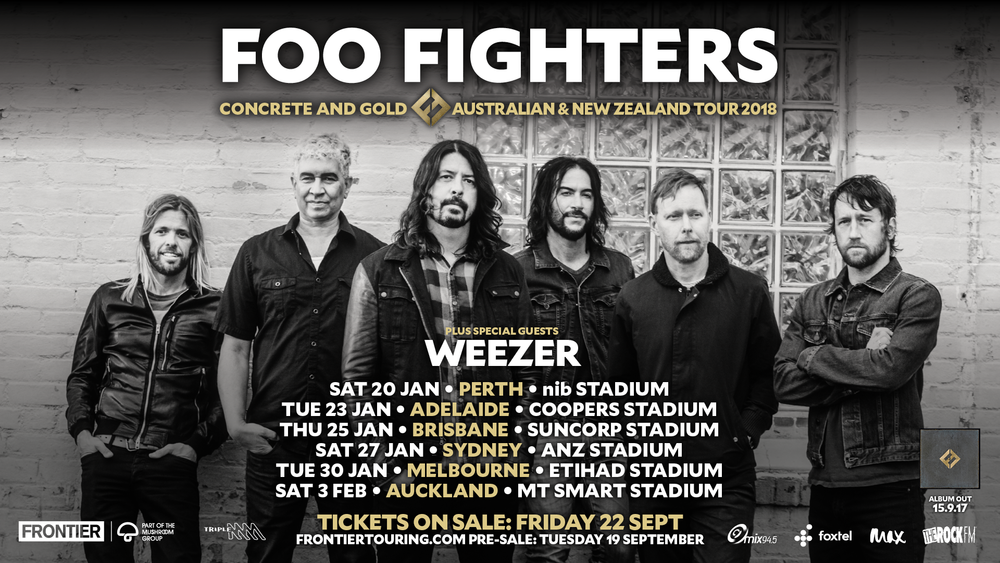 Foo Fighters  Tour Australia