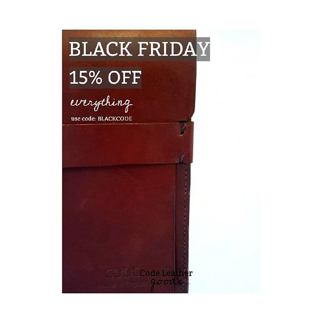 • BLACK FRIDAY • 💥 15% OFF EVERYTHING ONLINE 💥 head over to our website - link in bio.  SALE ENDS MIDNIGHT SUNDAY. Offer includes 💣 ALL WORKSHOPS! 💣 • • • •  #leatherworks #leathercraft #bags #leatherbags #crafting #handmadebag #instabags #blackfridaysale #christmasshopping #leatheraccessories #handcrafted #leather #british #britishmade #madelocal #workshop #leatherworkshop #live #liveloveleather #bagslover #accessories