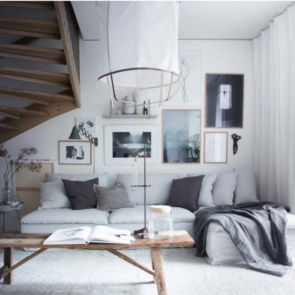 The beautiful living room of My Scandinavian Home