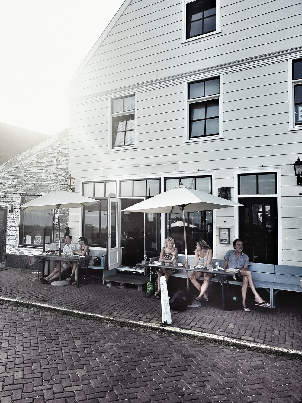 The local bar and restaurant in Durgerdam