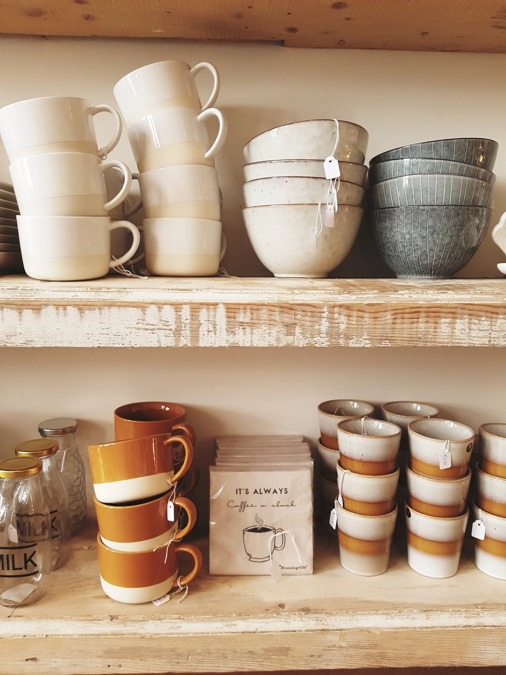 And there was lots of lovely home ware to tempt you over your cup of tea