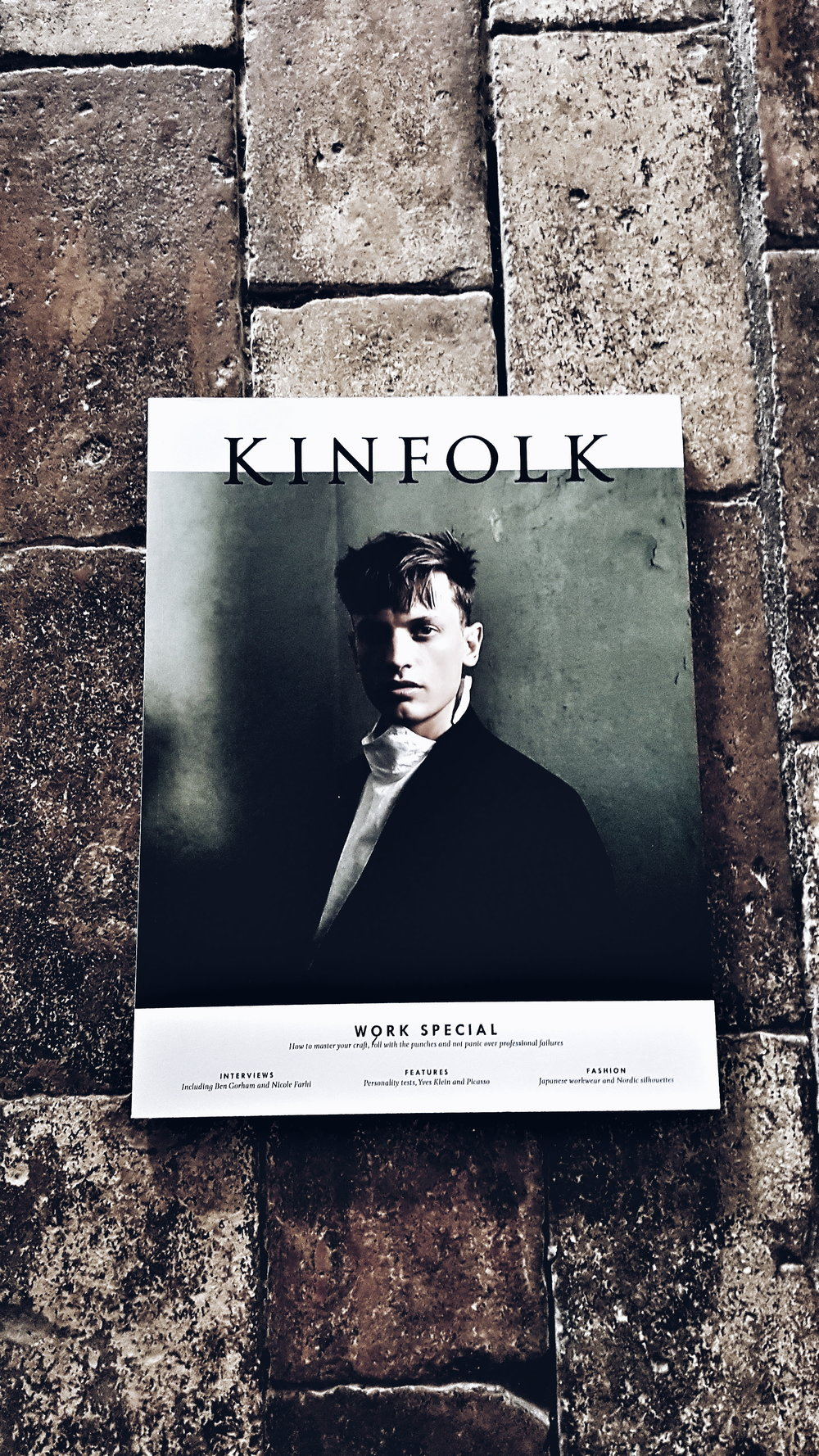 City dwellers relax, the cottage was fully stocked with the latest issues of Kinfolk and Cereal Magazine