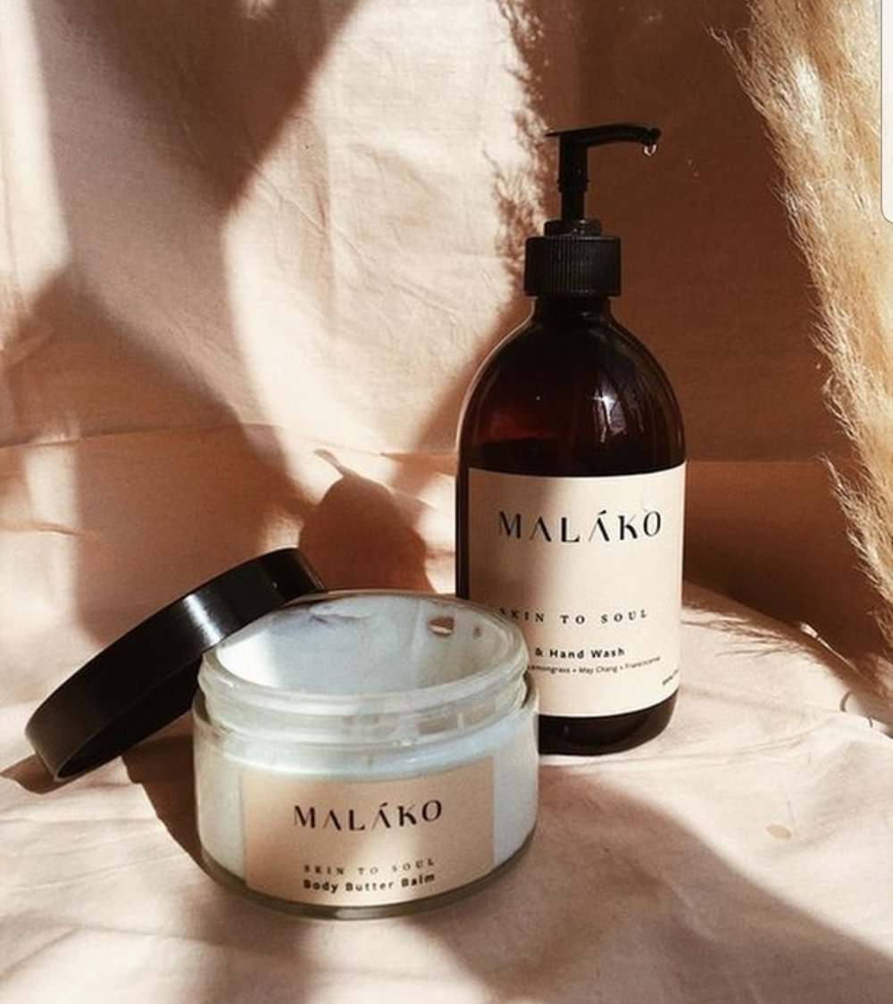 Plenty of pampering presents available from Malako Skincare
