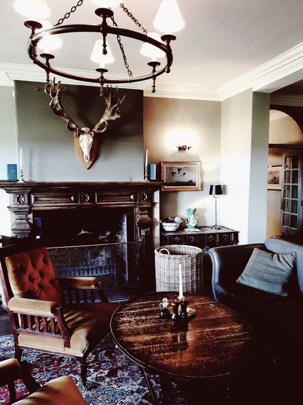 The  Victoria Inn  at Holkham where we enjoyed a delicious pub lunch