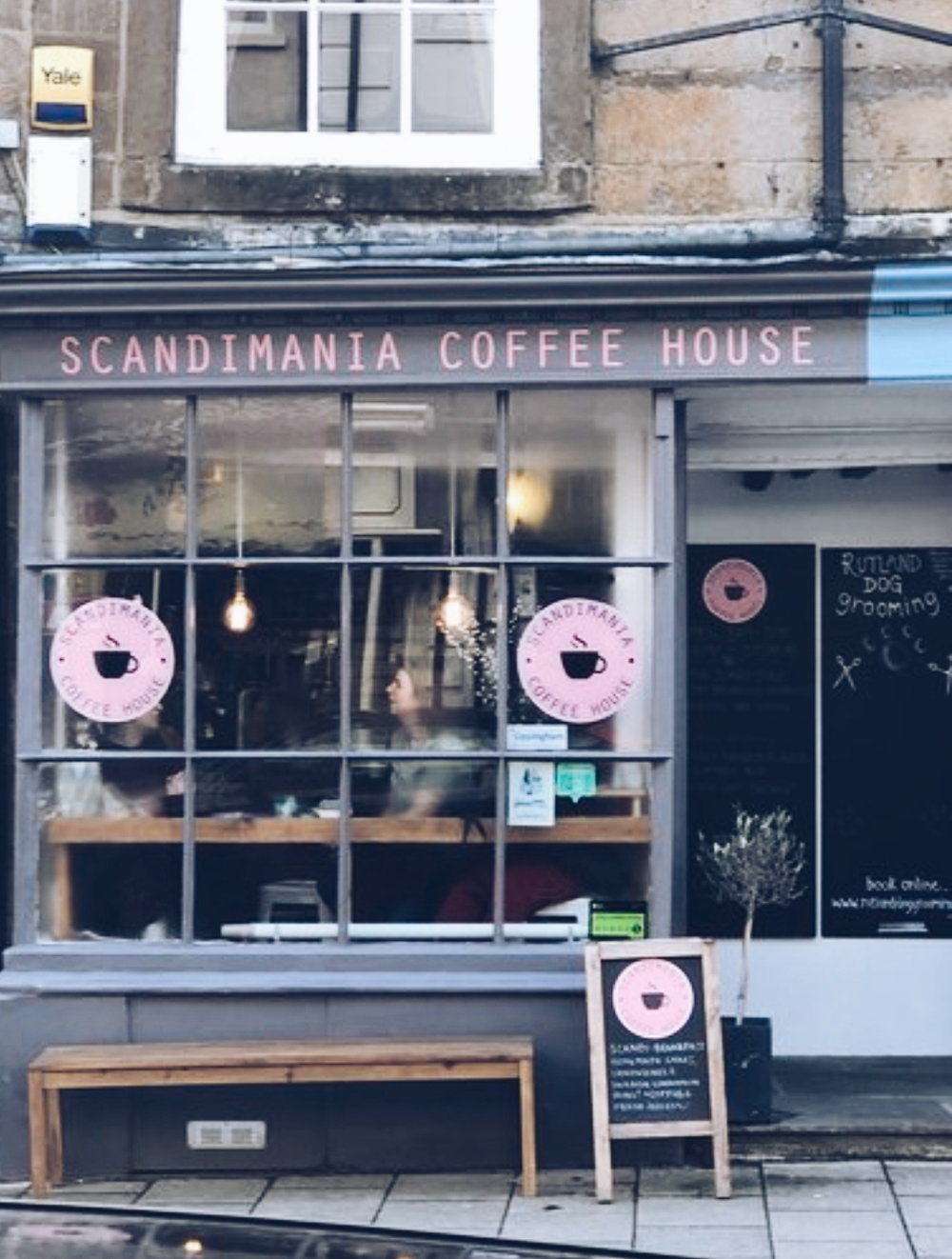 Rutland really is spoilt for choice when it comes to Scandi cafes like  Scandimania