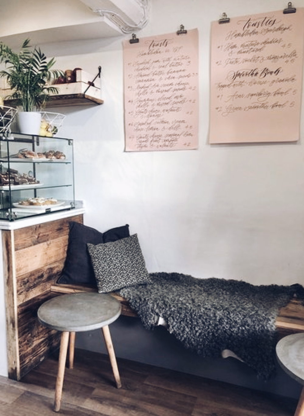 Hygge vibes and a lovely modern rustic corner in  Fika Oakham
