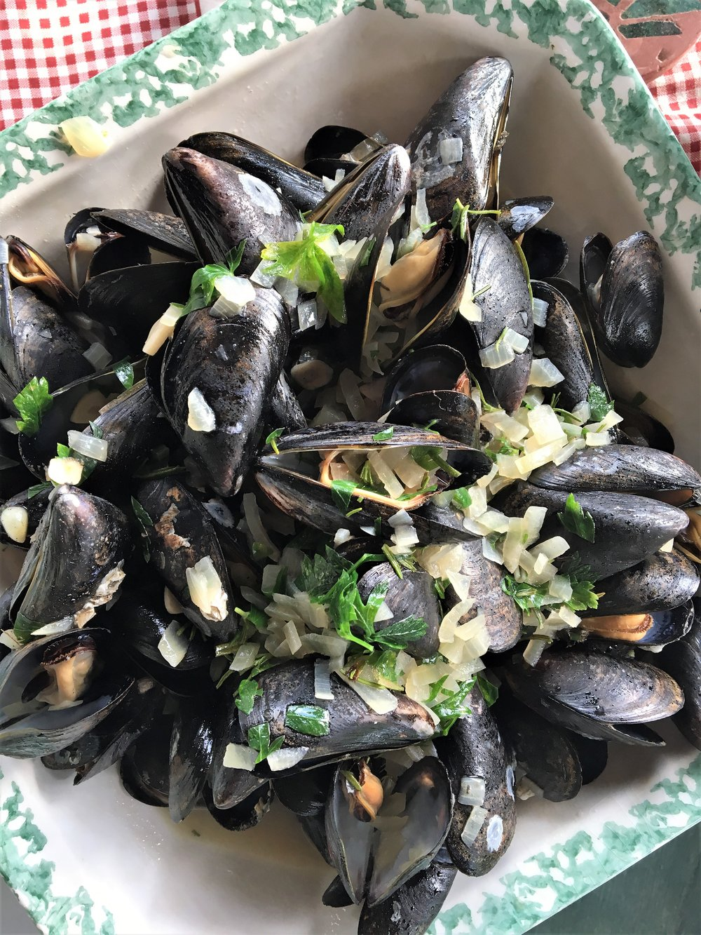 Pile of Mussels