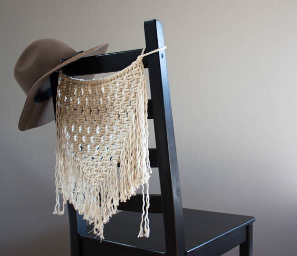 Macramé Chair Hanger